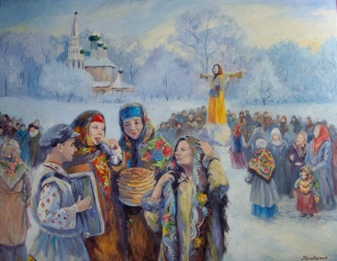 Как отмечали Масленицу на Руси